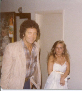 Tom Jones and Charlotte Laws
