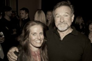 Charlotte Laws and Robin Williams