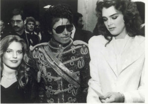 Charlotte Laws, Michael Jackson and Brooke Shields