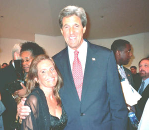 Charlotte Laws and John Kerry