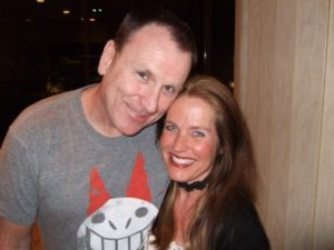 Colin Quinn and Charlotte Laws in Palm Desert, CA