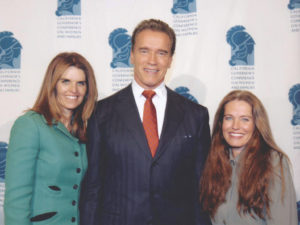 Maria Shriver, Governor Arnold Schwarzenegger and Charlotte Laws