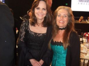 Sally Field and Charlotte Laws at the Britannia Awards