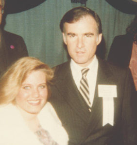 Charlotte Laws and Jerry Brown in 1980 in Washington, DC