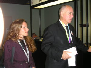 Charlotte Laws and Governor Jerry Brown in Los Angeles